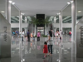 Inside Krabi International Airport