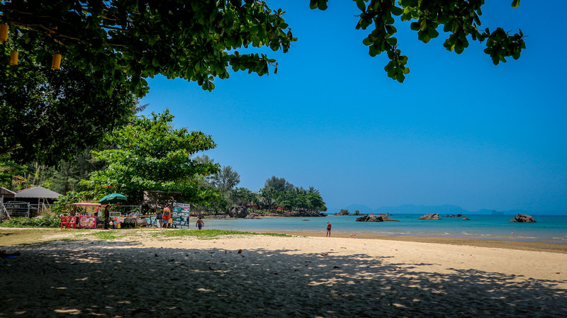 View of Tab Kaek Beach, Krabi Thailand